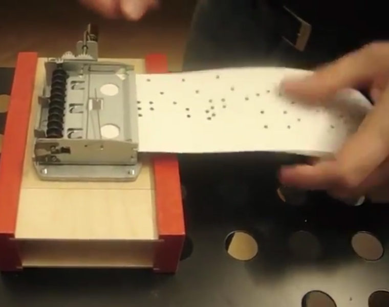 LISTEN THING – Music Box Piece in 4 Parts